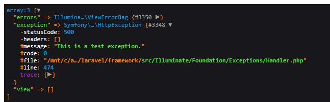 Our custom server error page